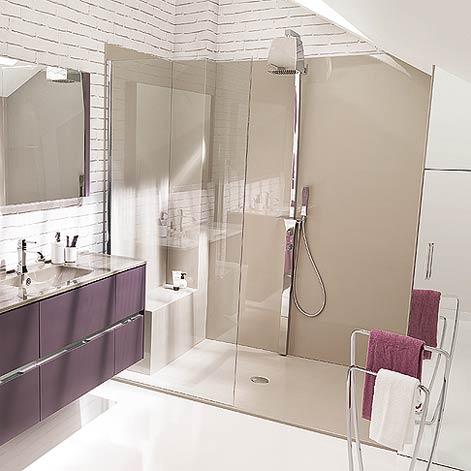 Salles de bains - Panneau pour salle de bain ...